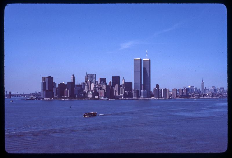 Twin Towers 1970s.