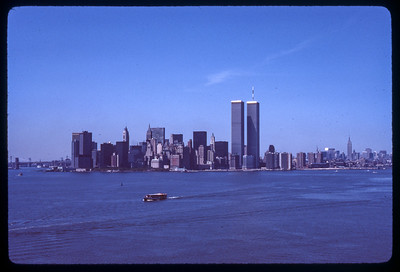 Twin Towers 1970s.