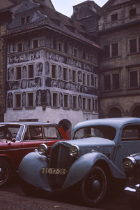 Franz Kafkas Residence. Prague 1965