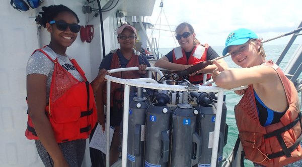 Oceanography Camp for Girls