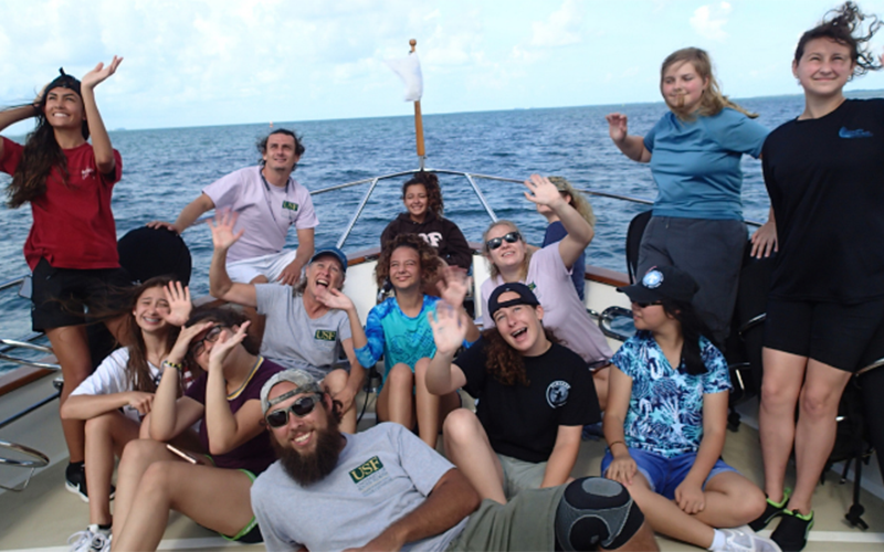 Oceanography Camp for Girls: Celebrating 30 Years!