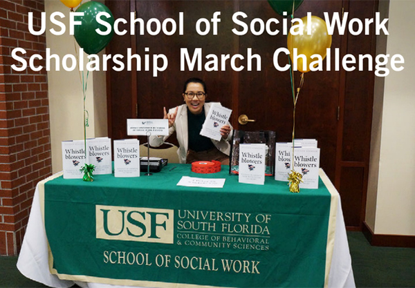 The USF School of Social Work March Challenge