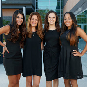 USF: Young Alumnae Establish Scholarship to Pay it Forward