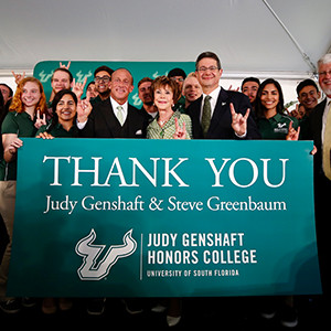 USF: A Historic Gift from a History-making President