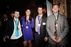 (l-r) Nolan Kasper, Julia Ford, Tucker Perkins, Robby Kelley<br /> 2012 New England Ski and Snowboard Ball at The House of Blues in Boston, MA.<br /> October 3, 2012<br /> Photo: Sarah Brunson/USSA