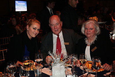 Lindsey Vonn, Randy MacDonald, Kathy MacDonald 2012 New York Gold Medal Gala November 7, 2012 at Gotham Hall, New York City Photo: Sarah Brunson/USSA