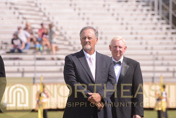 2014-09-27 FOUND Sports and Alumni Hall of Fame Pre-Game Honors
