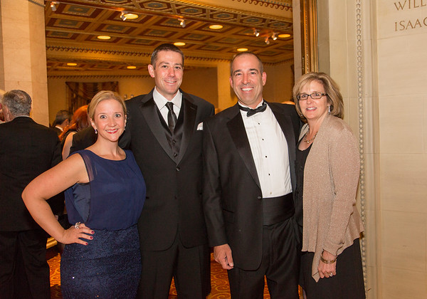 Holy Name Medical Center honored Joseph C. Parisi, Jr.; Trustee, Holy Name Medical Center and Chairman, Holy Name Medical Center Foundation and Charles Vialotti, MD; Associate Medical Director, Villa Marie Claire with the 2014 Spirit of Healing Award for their dedication and support of the Holy Name Medical Center mission. The awards were give as part of the ceremony at the Annual Founders Ball on October 11, 2014 at Gotham Hall in New York City. Photo by Victoria Matthews/Holy Name Medical Center