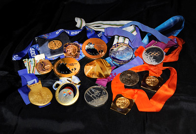 Gold Medals on Display at New York Gold Medal Gala