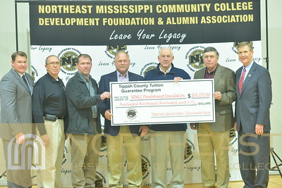 2017-01-17 FOUND Tippah County Supervisors at Basketball Game