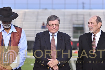 2018-10-04 FOUND Alumni Hall of Fame Recognition on Field