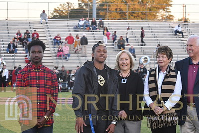 2018-10-11 FOUND Foundation Scholarship Recognition on Field