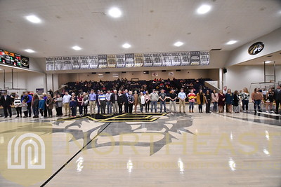 2019-02-07 FOUND Scholarship Recognition - On Court