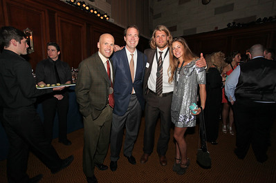 Steven Nyman and Resi Stiegler 2011 New York Gold Medal Gala. October 26, 2011 Photo: Sarah Ely/USSA