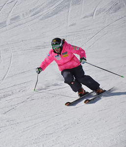 Squaw Valley 2012 U.S. Ski Team Day April 7, 2012 U.S. Ski Team alpine skier, Stacey Cook, Dawn Patrol with U.S. Ski Team Athletes and Olympic Sponsors Photo: Katie Perhai/USSA