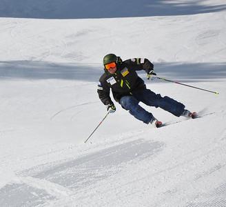 Squaw Valley 2012 U.S. Ski Team Day April 7, 2012 U.S. Ski Team alpine skier, Nick Daniels Dawn Patrol with U.S. Ski Team Athletes and Olympic Sponsors Photo: Katie Perhai/USSA