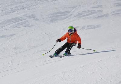 Squaw Valley 2012 U.S. Ski Team Day April 7, 2012 Dawn Patrol with U.S. Ski Team Athletes and Olympic Sponsors Photo: Katie Perhai/USSA