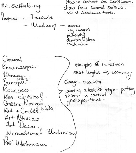 My scribblings - do i have an artists' handwriting?