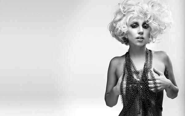 Lady Gaga photographed by John Wright