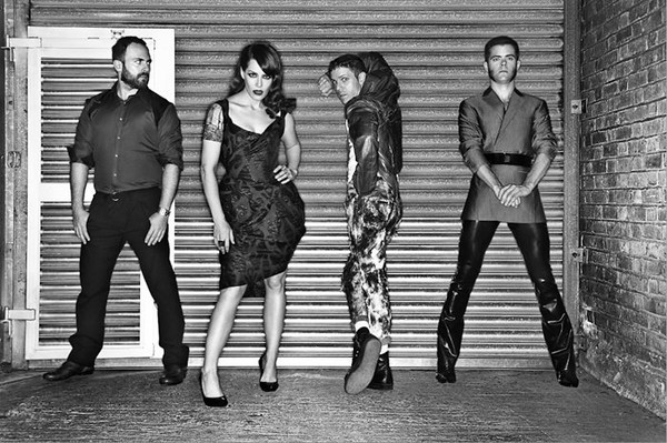 Scissor Sisters photographed by John Wright