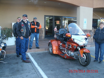 Fountain Hills Breakfast ride/Big Al's House 3/2014