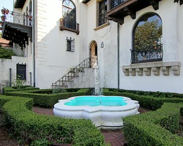 Fountain on Vanderbilt Estate in Centerport,NY.