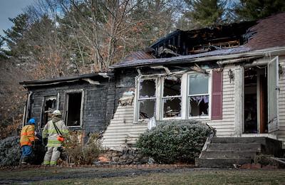 Four-Alarm Dracut Fire
