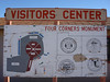 4 Corners Monument - Sign could use a little 'touch-up'