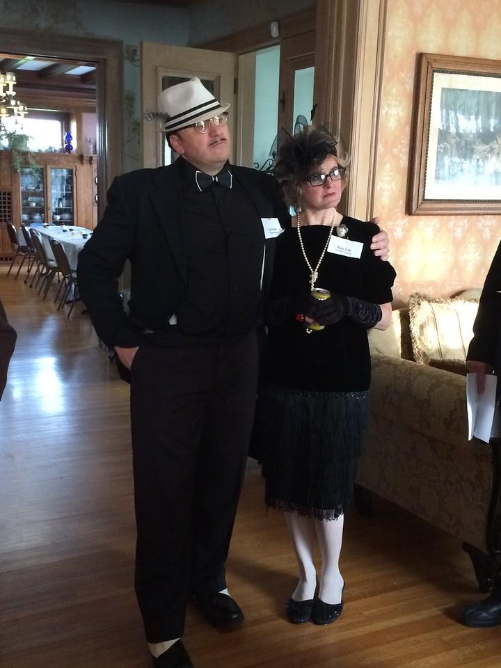 Mr and Mrs Don Wannabee, Big Jim Ravioli's Chief Lieutenant