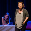 """A showing of  """"Four Legs to Stand On"""", a play to continue efforts to destigmatize those suffering from an opioid addiction, was held at Monty Tech on Thursday evening. SENTINEL & ENTERPRISE / Ashley Green"""