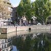 Canals in Strasbourg, France, October 24, 2003