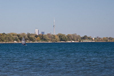 Windsurfing in Marie Curtis Park