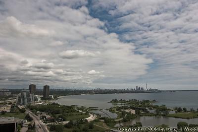 Toronto cloudscape