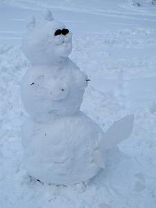 A Very Rude Snow-Hermaphrodite