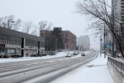 March Snowstorm, Bloor St W