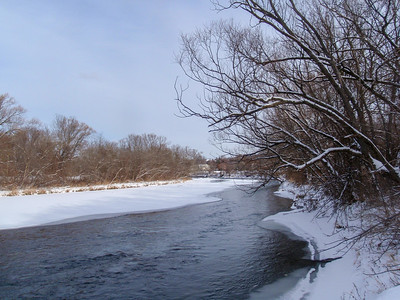 Humber River In Winter