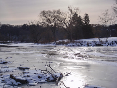 Frozen Humber RIver
