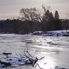 Frozen Humber RIver