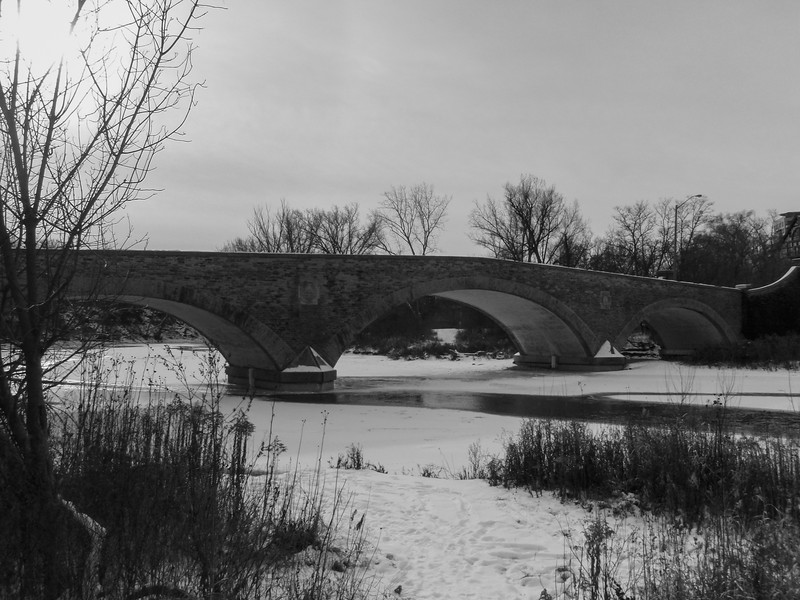 Bridge By Old Mill