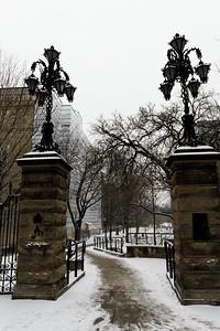 Snowy Path To Philosophers Walk