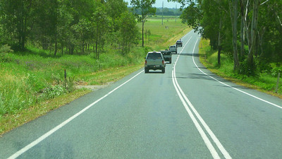On the road to Canungra
