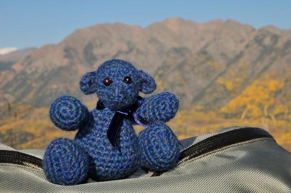 Twilight Bear<br /> West Twilight Peak, Twilight Peak and East Twilight Peak in autumn glory