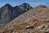 Crestone Needle and Crestone Peak from Humboldt Peak<br /> 14,197 and 14,294
