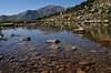 An alpine pond off the beaten path
