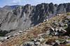 Mount Elbert, Ellingwood Ridge and fall tundra colors on the slopes of La Plata