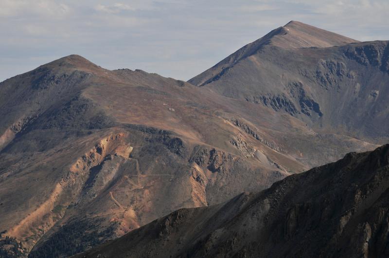 Mount Elbert, the highest peak in Colorado