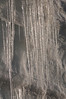 Icicles form along the freshly plowed Mount Evans Road.