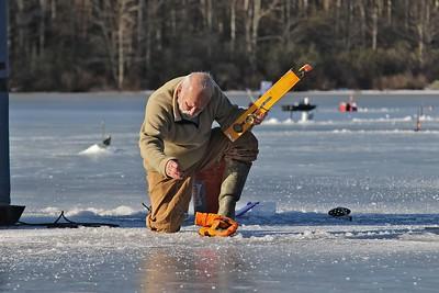 Fourth Annual Matti Laaksonen Ice Fishing Derby, February 17, 2018
