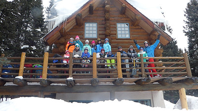 Fourth Grade Hut trip to Shrine Mountain