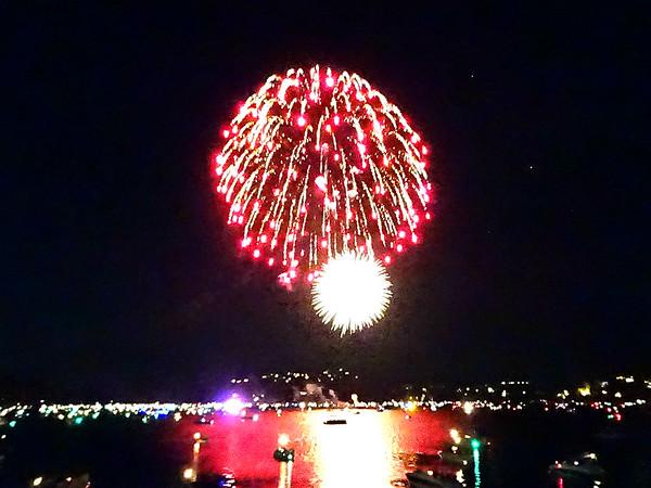Fourth of July 2018 at Lake Arrowhead